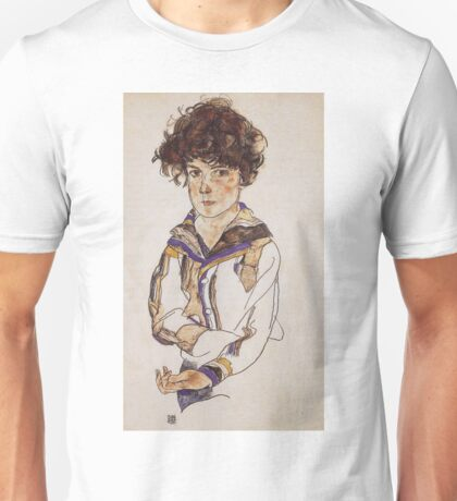 Egon Schiele - Young Boy 1918 Unisex T-Shirt