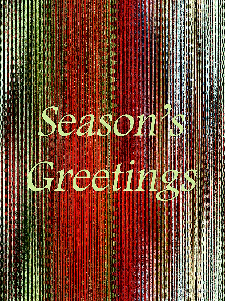 Season's Greetings! by Ruth Palmer