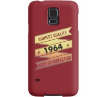 Highest Quality 1964 Aged To Perfection Samsung Galaxy Case/Skin