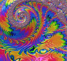 Rainbow Spiral by Steve Purnell