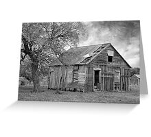 History Unknown Greeting Card