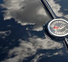 Cheverolet Corvette Badge by Darren Newbery