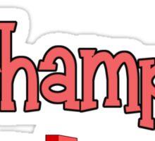 Arcade Champ by Chillee Wilson Sticker