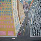 Downtown LA, CA winter by ROSS MANARCHY aka John Ross