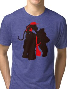 DK and Diddy (large print) Tri-blend T-Shirt