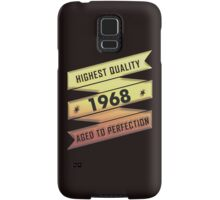 Highest Quality 1968 Aged To Perfection Samsung Galaxy Case/Skin