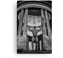 Watchers Of My Temple Canvas Print