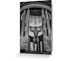 Watchers Of My Temple Greeting Card