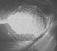 Crystal maze dwindling on the shore  by RiyaNoir