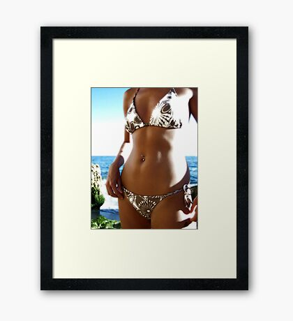 Worth More Than Gold Framed Print
