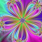 A Fractal Flower by James Brotherton