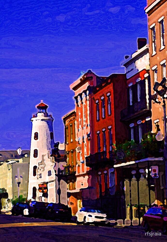 city light house by rfsjraia