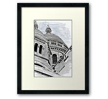 Sacre Coeur IV Pen and Ink Framed Print