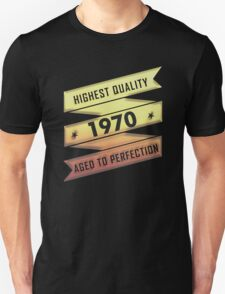 Highest Quality 1970 Aged To Perfection T-Shirt