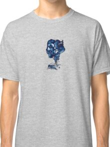 Negative Skull Sketch Classic T-Shirt