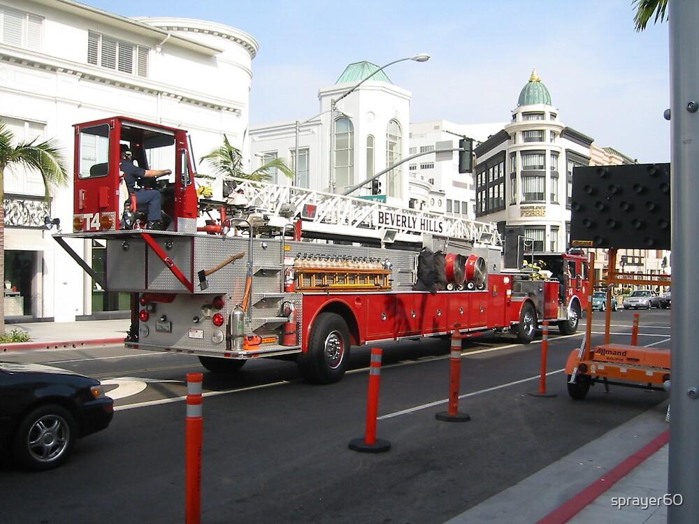 FIRE TRUCK by sprayer60