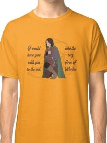 Into the Very Fires of Mordor Classic T-Shirt