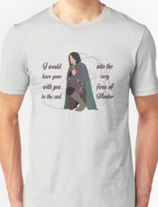 Into the Very Fires of Mordor T-Shirt