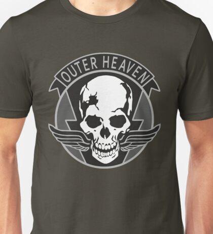 Metal Gear Solid - Outer Heaven Emblem  Unisex T-Shirt