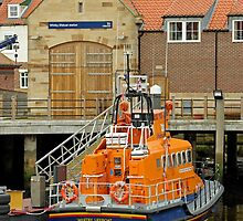 Whitby Lifeboat and Lifeboat Station by Rod Johnson