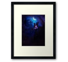 Mystic Night and Witch 4 Framed Print