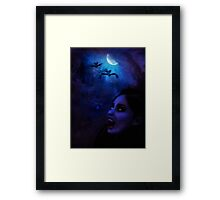 Night of Vampires Framed Print