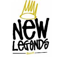 Dreamville - New Legends (Black Font) Photographic Print