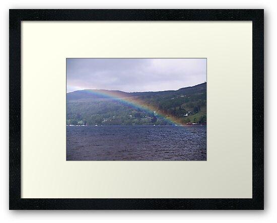 Loch Tay Rainbow by Tim Haynes