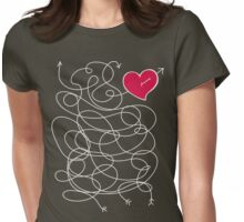 Love quiz Womens Fitted T-Shirt