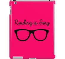 Reading is the New Sexy iPad Case/Skin