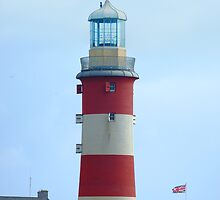 "Lighthouse on the ""Hoe"" of Plymouth by Simon Turner"