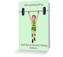 Growing Strong Greeting Card