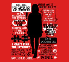 Doctor Who - Clara (Oswin) Oswald Quotes T-Shirt