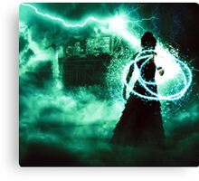 Swamp Witch Canvas Print