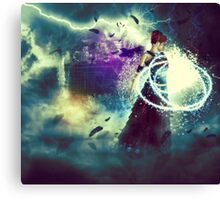 Swamp Witch 2 Canvas Print