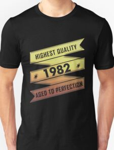 Highest Quality 1981 Aged To Perfection T-Shirt