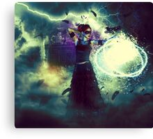 Swamp Witch 3 Canvas Print