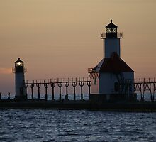 Twilight Lighthouse by Brad