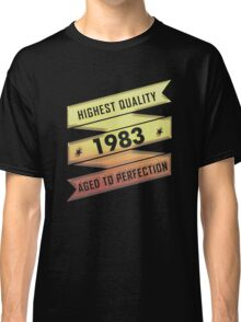Highest Quality 1983 Aged To Perfection Classic T-Shirt
