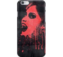 Vampire poster iPhone Case/Skin