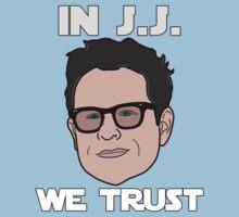 In J.J. We Trust - Bobble Head by HelloGreedo