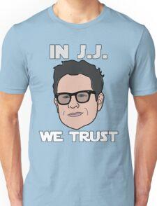 In J.J. We Trust - Bobble Head Unisex T-Shirt