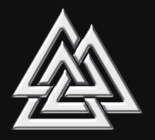 Walknut / Valknut - Wotan's Knot / Odins Knot One Piece - Short Sleeve