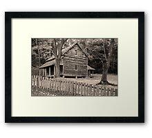 Hamp Tipton Place  Framed Print