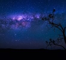Starscape Silhouette by PhotoByTrace