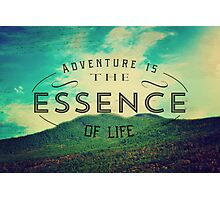 The Essence of Life Photographic Print