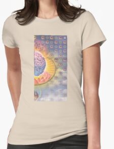 Lotus Brains Womens Fitted T-Shirt
