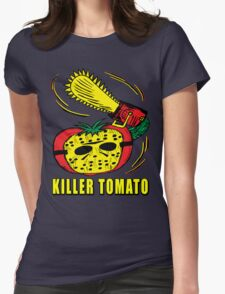 Killer Tomato Womens Fitted T-Shirt