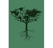 Earth tree *dark green edition Photographic Print