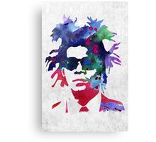 Jean-Michel Basquiat Splatter 2 Canvas Print